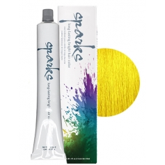 Sparks Long Lasting Vibrant Hair Color - Sunburst Yellow