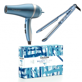 "BaByliss PRO NanoTitanium Hair Dryer & Ultra-Thin Flat Iron 1.5"" Limited Edition Set"