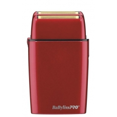 BaByliss PRO Red FX Cordless Metal Double Foil Shaver (FXFS2R)