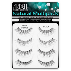 ARDELL Professional Natural Demi Wispies Multipack - 4 pairs