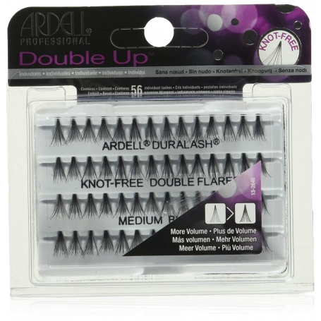 ARDELL Professional Double Up Knot-Free Individual Lash - Medium length