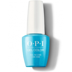 OPI Gel Color - Teal the Cows Come Home (15ml/0.5oz)