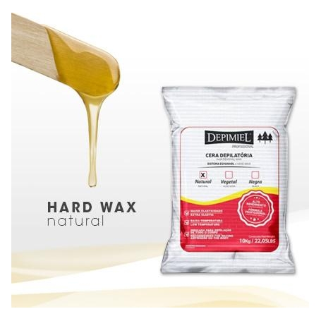 Depimiel Natural Hard Wax Bag 22 05 lbs - ProStylingTools com