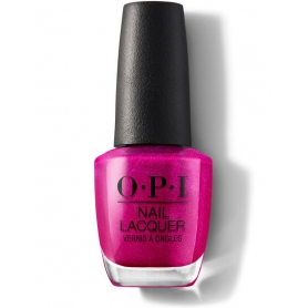 OPI Nail Lacquer - Flashbulb Fuschia (0.5oz/15ml)