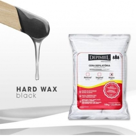 Depimiel Black Hard Wax Bag - 22.05lbs