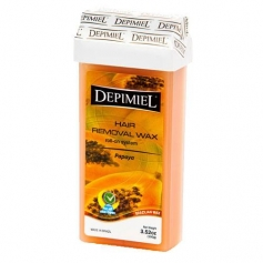 Depimiel Papaya Soft Wax Roll-On 3.52 oz.