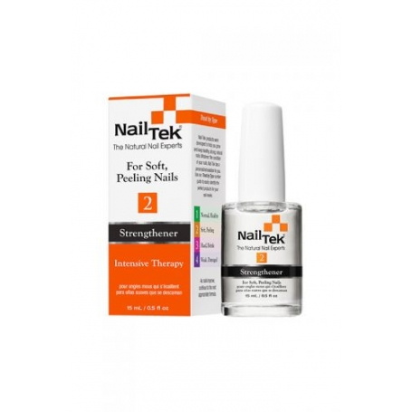 Nail Tek Intensive Therapy 2 Nail Strengthener For Soft, Peeling Nails