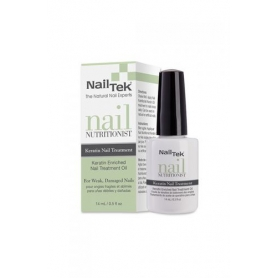Nail Tek Nutritionist Keratin Nail Treatment Oil for Weak, Damaged Nails (15ml/05.oz)