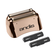 Andis ProFoil Lithium Titanium Foil Assembly & Inner Cutters - Copper