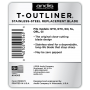 Andis T-Outliner Stainless Steel Replacement Blade (04565)