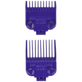 Andis Master Clipper Magnetic Dual Pack Comb Set - Sizes 0.5 & 1.5 (01420)