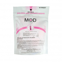 MOD Clean PINK Disinfectant Pods for Salons and Barbershops (32ct. Bag)